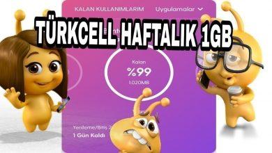 Photo of Türkcell Bedava İnternet 2020 Kazanma Hilesi