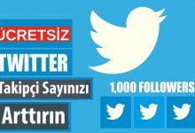Twitter Bedava Takipçi Arttırma Hilesi ve Hesapları