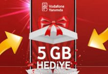 Vodafone GB Dolu İnternet Paketleri Kazanma