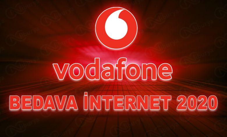 vodafone bedava internet