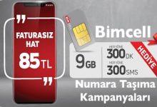 Bimcell Numara Taşıma Kampanyaları ve Tarifeleri