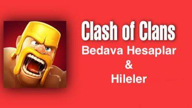 Clash Of Clans Bedava Hesaplar ve Hileler