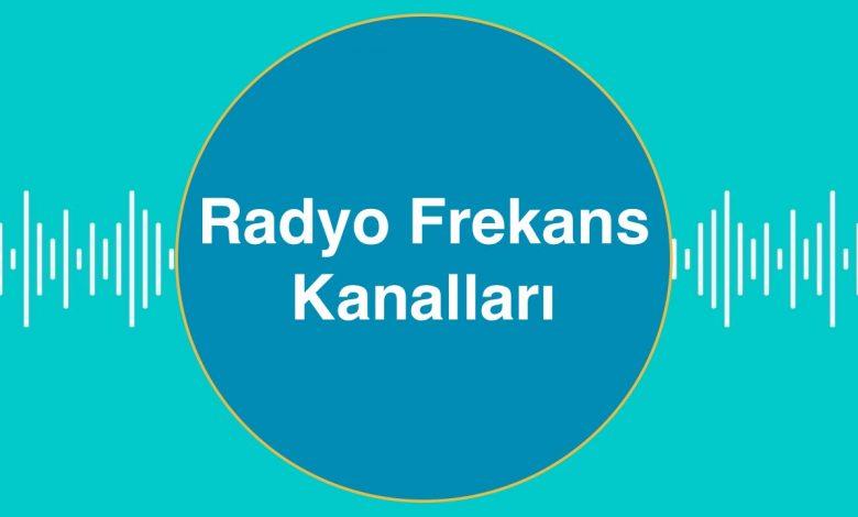 Radyo Frekans Kanalları