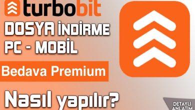 Turbobit Premium Hesaplar