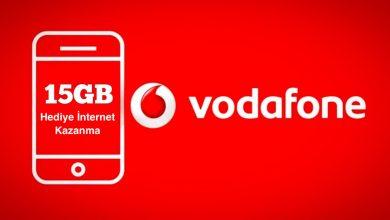 Vodafone Hediye İnternet Kazanma Yolları