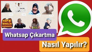 Photo of Whatsapp Sticker Yapma Tüm Paketleri İndirme (Güncel)
