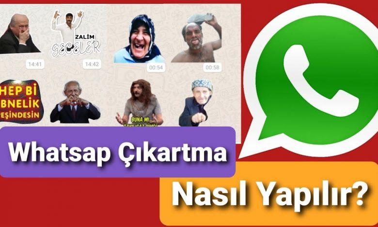 Whatsapp Sticker Yapma Tüm Paketleri İndirme (Güncel)