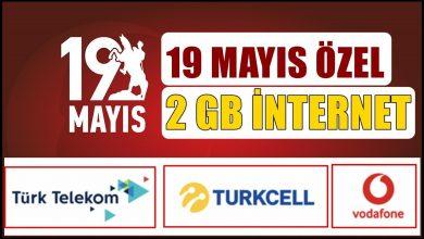 Photo of Turkcell, Vodafone Türk Telekom 19 Mayıs Kampanyası