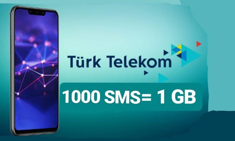 türk telekom güncel bedava internet