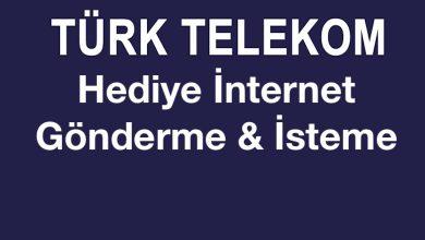 Türk Telekom Hediye İnternet Gönderme