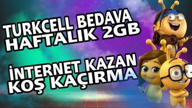 Photo of Türkcell Bedava İnternet Hilesi 2020