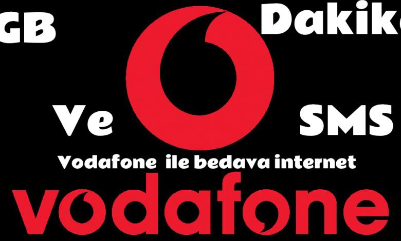 Vodafone Bedava Sms Paketi Kazanma