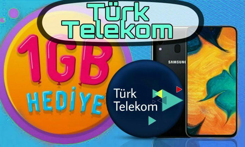 türk telekom bedava internet 2020