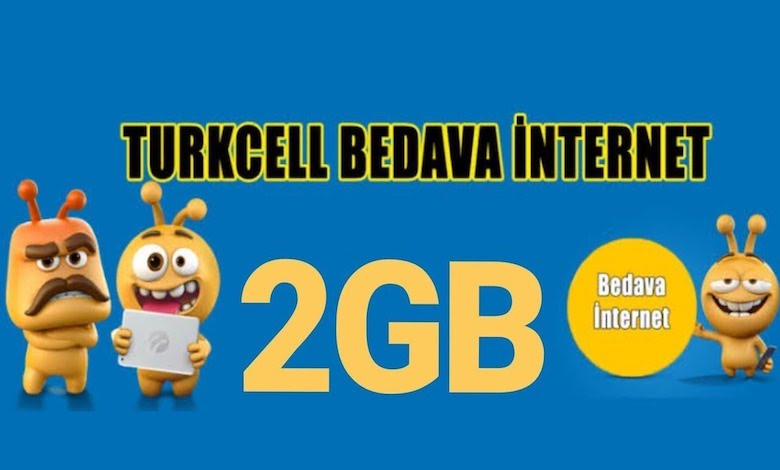 Turkcell Bedava İnternet Kodu
