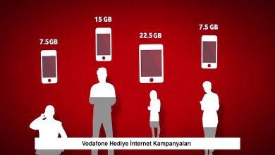 Vodafone Hediye İnternet Kampanyaları