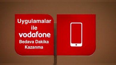 Vodafone Bedava Dakika Veren Uygulamalar Dakika Kazanma