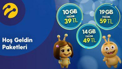 Turkcell Hoşgeldin 3 GB Paketi
