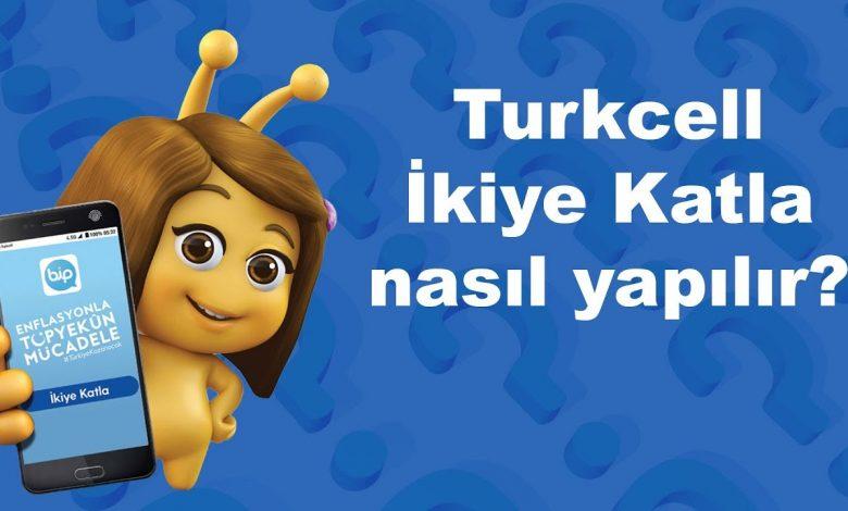 Turkcell İnternetini İkiye Katla Kampanyası