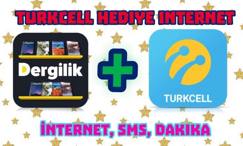 Turkcell Dergilik ile Tanışma Bedava 1 GB Kampanyası
