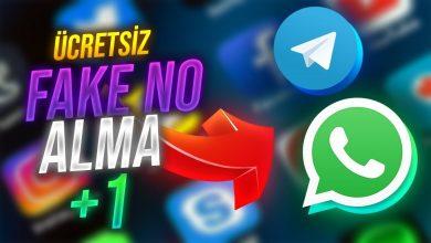 Sms, Whatsapp ve Telegram Sahte (Fake) Numara Alma