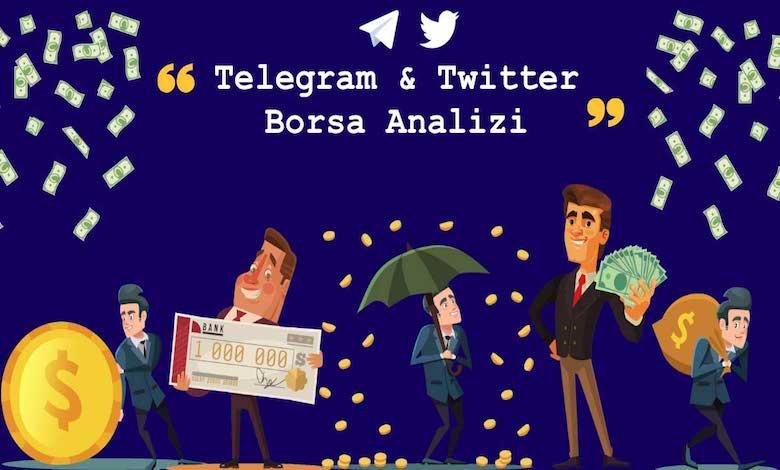 Telegram & Twitter Hisse, Borsa Analiz Gruplar ve Kanallar