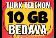 Türk Telekom 10 GB Bedava İnternet Kampanyaları