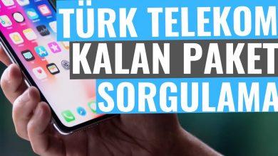 Türk Telekom Kalan Kullanım (İnternet, Mesaj, Konuşma) Sorgulama