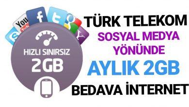 Türk Telekom Hediye Sosyal Paket Kampanyası
