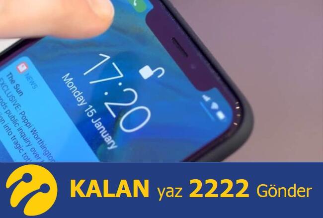 Turkcell Kalan Kullanım Hakları (Bakiye) Sorgulama