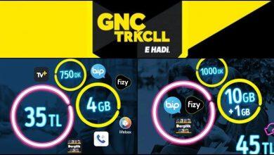 Turkcell GNC Star 10 GB Paketi