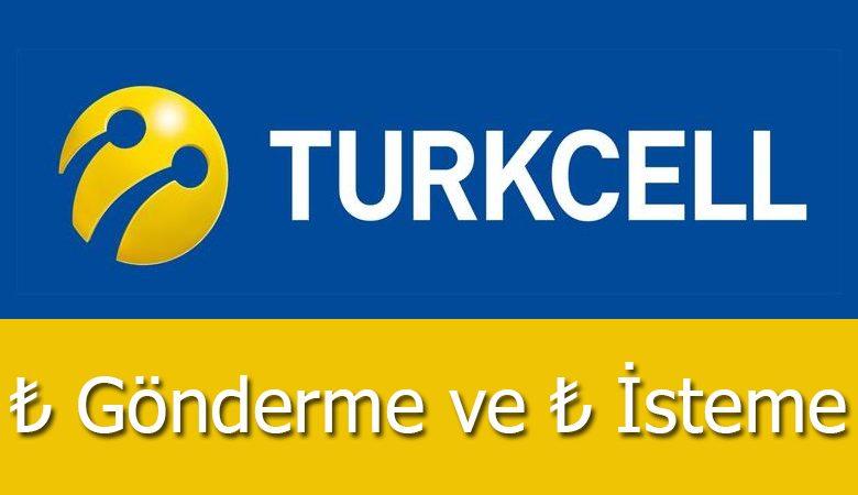Turkcell TL İsteme ve TL Transferi