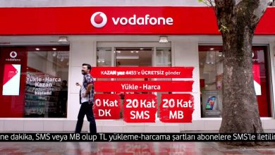 Vodafone Harca Kazan Kampanyası