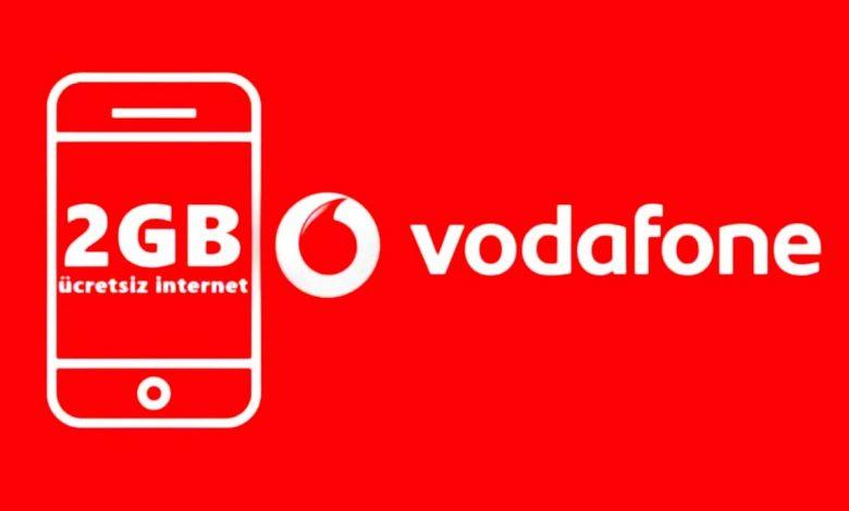 Vodafone 4.5 G 2 GB Hediye İnternet Kampanyası