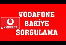 Vodafone Kalan Kullanım Hakları (Bakiye) Sorgulama