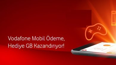 Vodafone Mobil Ödeme ile 1 GB Bedava İnternet Kazan