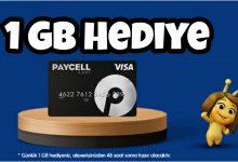Turkcell Paycell Kart Bedava İnternet