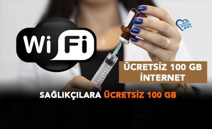 Sağlık Çalışanlarına 100 GB Hediye İnternet