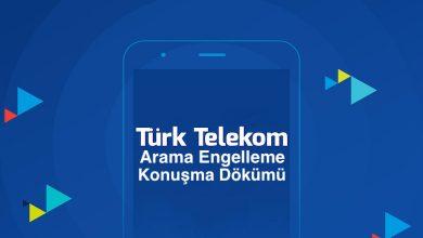 Türk Telekom Arama Engelleme ve Geçmiş Konuşma Dökümü Alma