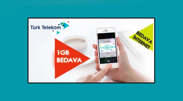 Türk Telekom e-Fatura 1 GB Hediye Kampanyası