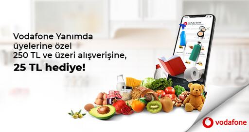 Vodafone İste Gelsin İndirim Kampanyası