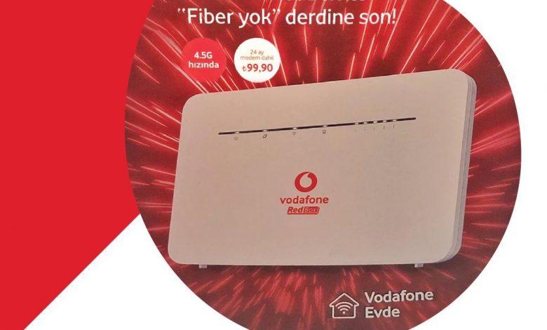 Vodafone RedBox Tarifeleri ve Fiyatları
