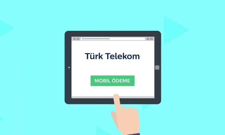 Türk Telekom Mobil Ödeme Açma ve Kapatma