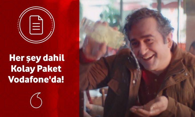Vodafone Faturasız Kolay Paketler