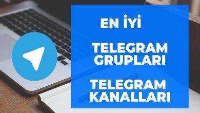 Telegram Grupları ve Kanalları