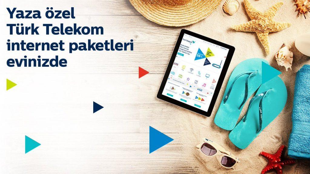 Türk Telekom Yazlık İnternet Kampanyaları ve Modem Fiyatları
