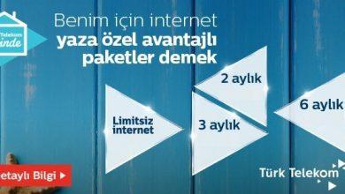 Türk Telekom Yazlık EV İnternet Kampanyaları