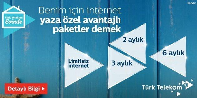 Türk Telekom Yazlık İnternet Paketleri ve Fiyatları