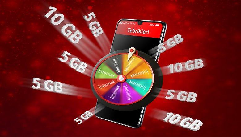 Vodafone Bedava İnternet Yeni