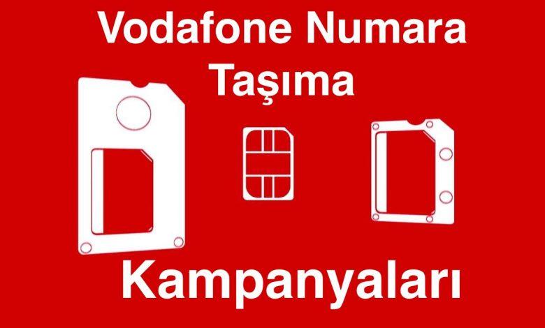 Vodafone Numara Taşıma Kampanyaları