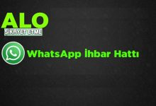 WhatsApp İhbar Hattı ile Şikayet Numaraları